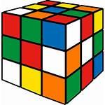 Cube Rubik Clipart Rubiks Transparent Icon Icons