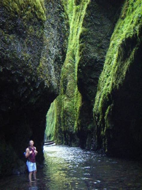 Oneonta Gorge - Hiking