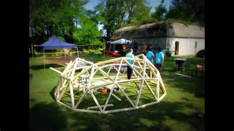 cupola geodetica fuller dymaxion esc costruire una cupola geodetica