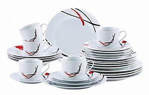 Geschirr Eckig Weiß : kaffeeservice 8 teilig tee service 4 kaffee tassen 4 untertassen geschirr set online ~ Whattoseeinmadrid.com Haus und Dekorationen