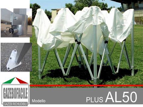 gazebi richiudibili gazebo pieghevole in alluminio 50mm gazebi pieghevoli