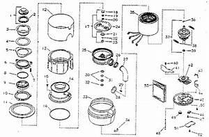 Kenmore Model 17560500 Garbage Disposal Genuine Parts