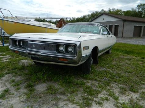 1971 Chrysler New Yorker by Purchase Used 1971 Chrysler New Yorker Base 7 2l In