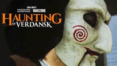 haunting  verdansk   halloween themed  event