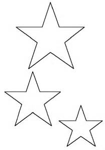 Small Star Template Printable