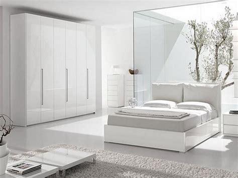 Modern White Bedroom by White Modern Bedroom Design Home Decor
