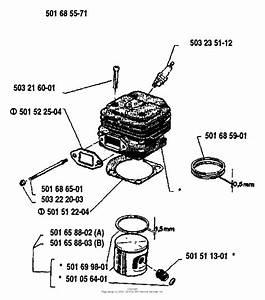 Husqvarna 266  1988 Cylinder