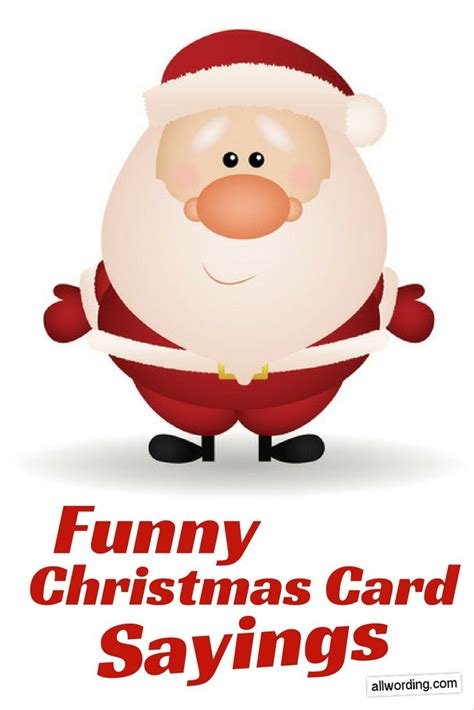 The best of all gifts around any christmas tree: 25 Funny Things to Write in a Christmas Card | Funny christmas cards, Christmas card sayings ...