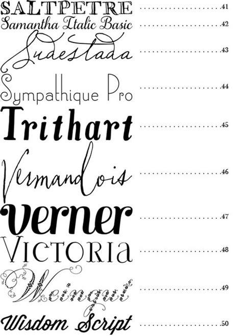 popular wedding invitation fonts   images