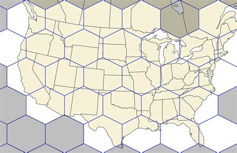 Fill the Hex Map: MLS Teams Quiz - By Acntx