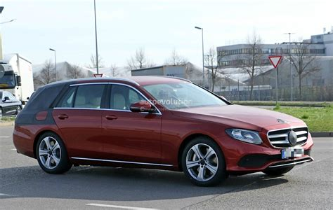 Mercedes E Class Wagon 2017 by 2017 Mercedes E Class Wagon S213 Spied In Germany