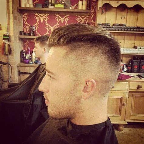 slicked  undercut hairstyle  men