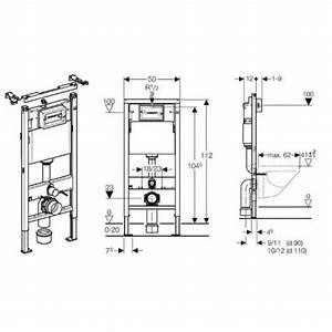 Wand Wc Montage : geberit duofix basic up 100 design in bad ~ Watch28wear.com Haus und Dekorationen