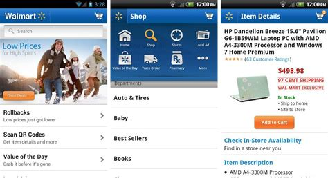walmart app for android best android apps for shoppers to find best deals