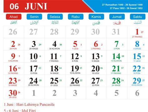 Download Kalender 2019 Cdr Psd