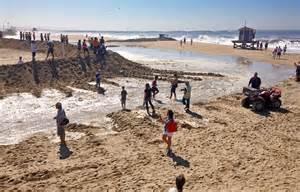 Storm Seal Beach California