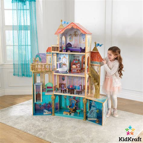 disney princess doll house kidkraft disney 174 princess ariel undersea kingdom dollhouse