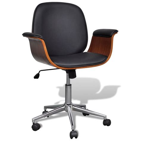 leather swivel desk chair adjustable swivel office chair artificial leather www