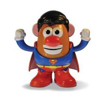 mr potato figura superman 15cm merchandising c 243 mic fnac