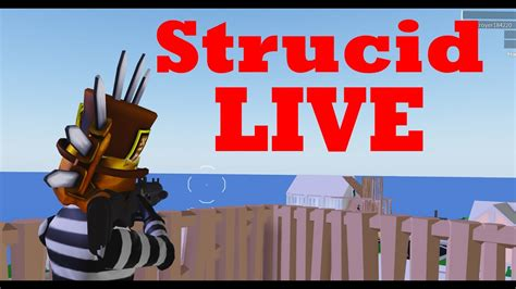 strucid  roblox livestrucid vip server youtube