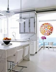 Plan De Travail 90x200 : plan de travail en marbre comment en d corer sa cuisine ~ Melissatoandfro.com Idées de Décoration