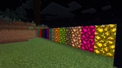 colored glowstone mod minecraft pocket edition