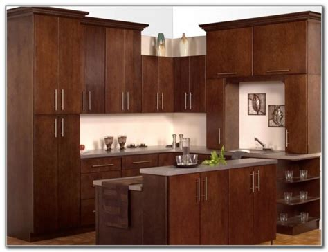 Flat Door Kitchen Cabinets  Cabinet  Home Decorating