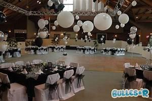 Idee Deco Salle De Mariage : idee decoration mariage noir et blanc id es et d 39 inspiration sur le mariage ~ Teatrodelosmanantiales.com Idées de Décoration