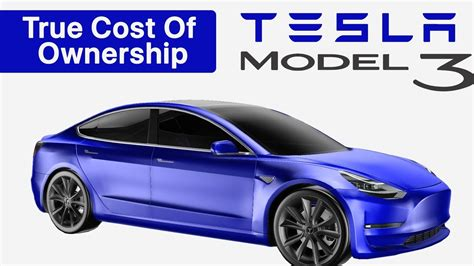 Tesla Model 3 True Cost Of Ownership Compared With A Honda