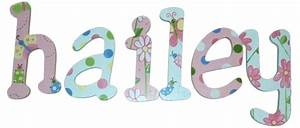hailey39s whimsical garden wood wall letters With whimsical wooden wall letters