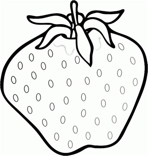 Coloring Strawberry by Fresh Strawberry Coloring Pages Learn To Coloring