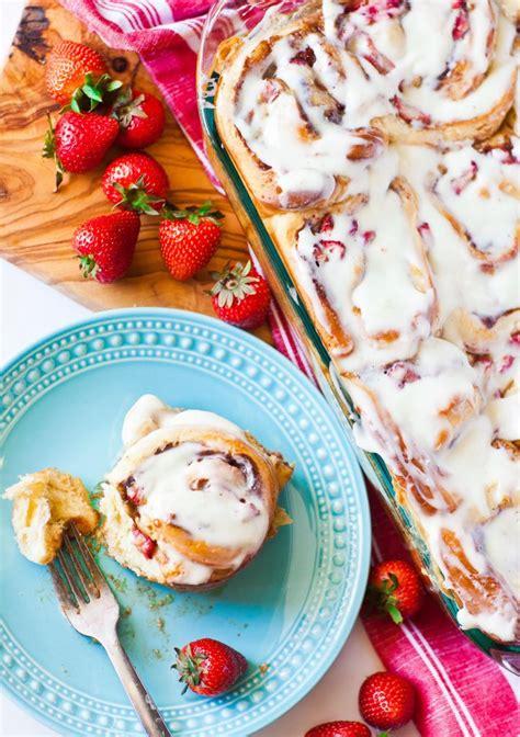 strawberry cinnamon rolls tatyanas everyday food