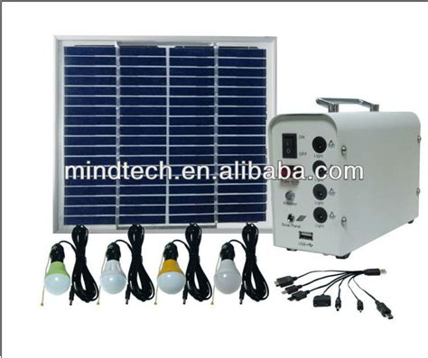 solar lighting for indoor solar home lighting system
