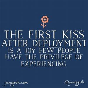 Cas, Military a... First Deployment Quotes