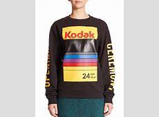 Lyst Opening Ceremony Kodak Logo Sweatshirt in Black