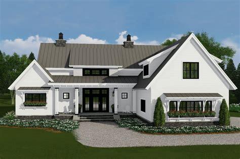 farmhouse style house plan beds baths sqft plan dreamhomesourcecom
