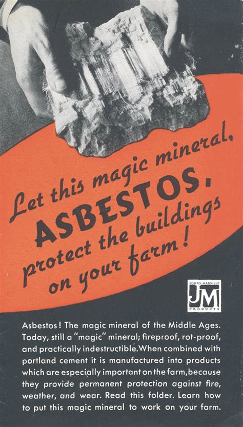 asbestos  magic killer earthly mission