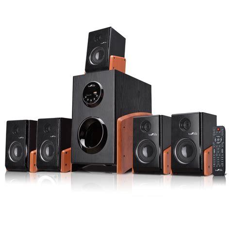 surround sound system befree sound 5 1 channel surround sound bluetooth speaker