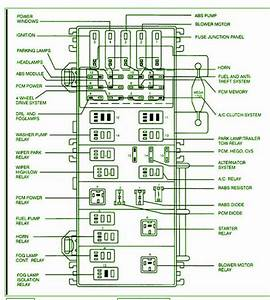 2001 Ford Ranger Xlt Fuse Box Diagram  U2013 Schematic Diagrams
