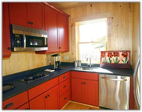 Best Color For Kitchen Cabinets In Small Kitchen   Home