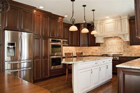aurora il kitchen remodel beautiful cherry cabinet