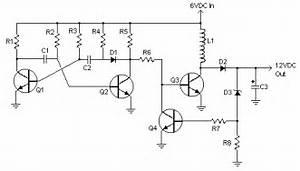 6v to 12v dc converter circuits for Circuit 12v to 6v