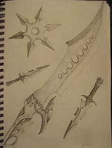 Random Weapon Drawings by slayer720 on DeviantArt