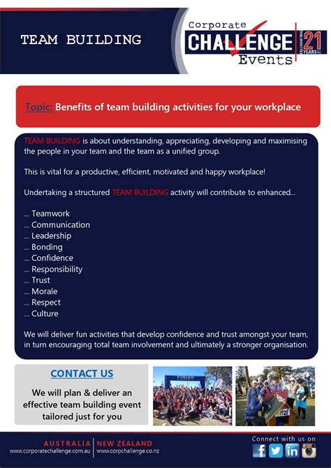 Villareal Cf Squad Building Challenge Benefits Of Team Building Activities For Your Workplace By