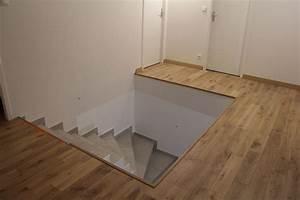 Parquet Massif Clipsable : photo tr mie escalier parquet ch ne massif naturel ~ Edinachiropracticcenter.com Idées de Décoration