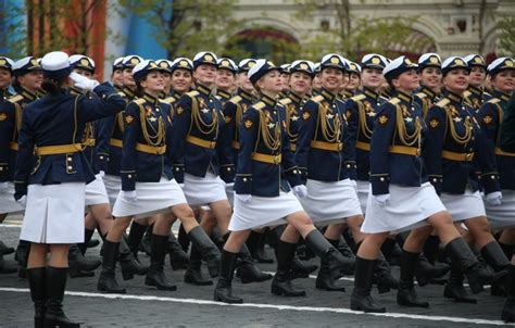 wallpaper girls holiday victory day parade red square