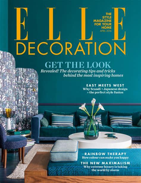 Reader Poll Newsstand Covers  Elle Decoration Uk