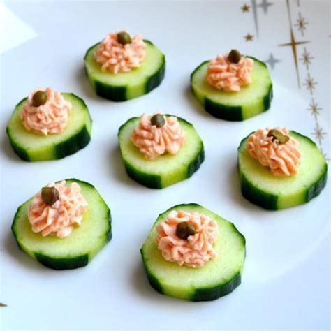 canape food smoked salmon mousse canapés recipe flavoursome delights