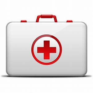 First-Aid medical kit icon (PSD) - GraphicsFuel
