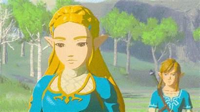 Zelda Fan Legend Botw Princess Breath Wild